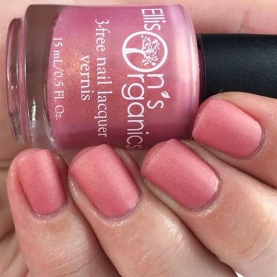 Rs Nail: Matte Nail Polish Pink Nail Polish Vegan Matte-rs Of The