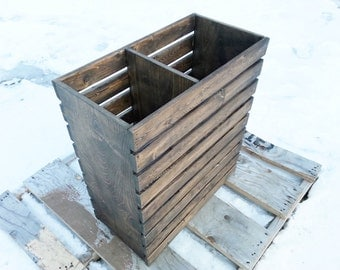 Laundry Basket, Rustic, Modern, Crate, Finished or Unfinished