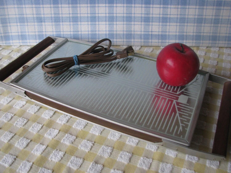 salton cosmopolitan hot tray electric food warmer double size. Black Bedroom Furniture Sets. Home Design Ideas