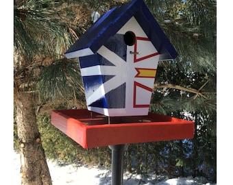 Newfoundland Flag Bird Feeder