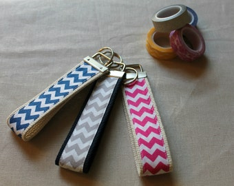 Chevron Key Fob (multiple colors available)