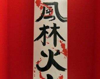 Japanese samurai decks.