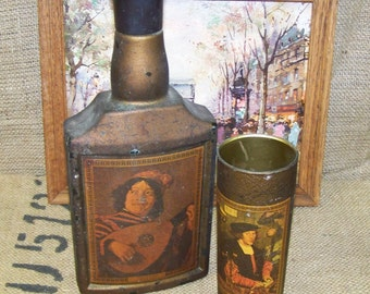 Beam's Choice Old Master Series Decanter Jim Beam Bottle Beams Choice Decanter and Tumbler