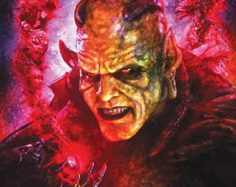 Wishmaster 11X17 Signed Poster