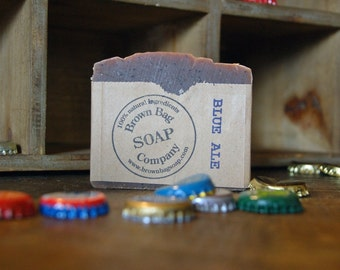 Blue Ale- Beer Soap- Blueberry Soap