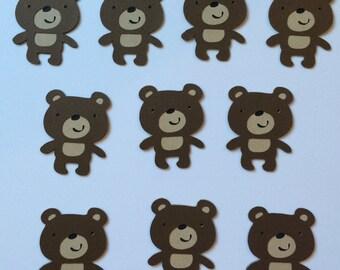 Set of 10 Brown Bears
