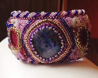 Frothy Beaded Cuff