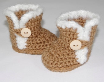Crochet Boot Pattern - Cozy Furry Shoes - sized to fit American Girl Dolls & 18 inch dolls - Instant Download