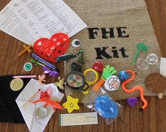 FHE Kits~ Burlap Bag