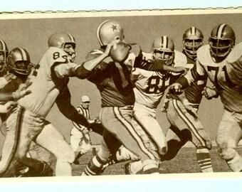Vintage NFL Cleveland Browns 1967 Ticket Order Blank UNUSED Football Sport Collectible Ephemera 1960s
