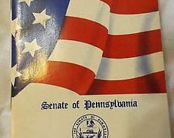 1991 Old Glory, The Story Of Our Flag; Senate Of Pa Allen Kukovich CL27-23