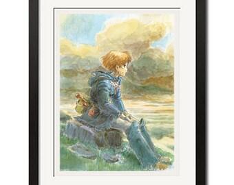 Hayao Miyazaki Nausicaa of the Valley of the Wind Poster Print 0641