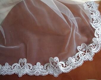 off White Lace Trim, venise lace, Bridal Lace