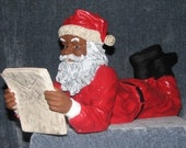Santa Checking His List!