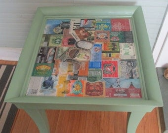 Craft Beer Label Table ON SALE!