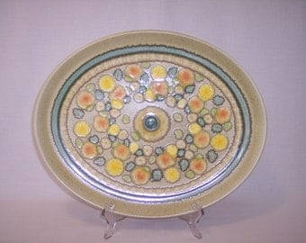 FRANCISCAN REFLECTIONS PLATTER - Made In England - Stoneware