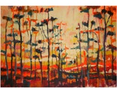 In The Morning- print on Canvas, Giclée