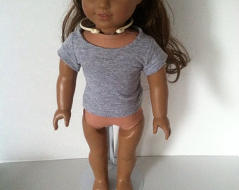 Upcycled T-Shirt for American Girl doll