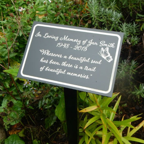Personalized Memorial Garden Flags