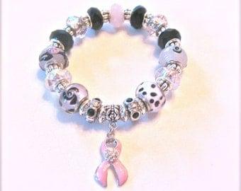 Breast Cancer Awareness Bracelet.