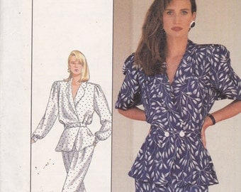 Simplicity 8431 Vintage Pattern Womens  Top, Pants and Skirt Size 12 UNCUT