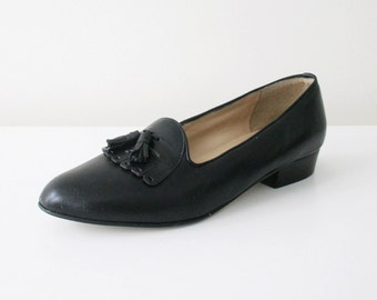 Genuine Leather Tassel Loafers