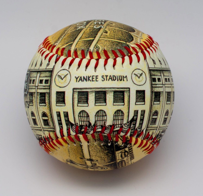 Yankee Stadium Opening Day Baseball Artistic Baseball Yankee