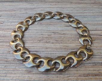 Large Link Vintage Chain Necklace
