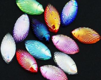 12-color 3D flatback acrylic Rhinestones of Nail Art Design Glitter Beads Crafts Art DIY supplies
