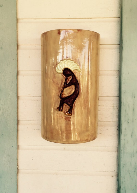 Kokopelli Wall Sconces : Kokopelli wall sconce Outdoor Wall Sconce Exterior