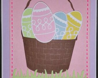 Enjoy Easter Basket with Eggs