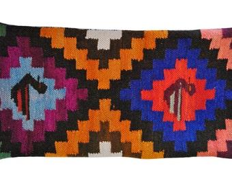 Peruvian Textile Pillow 11x21