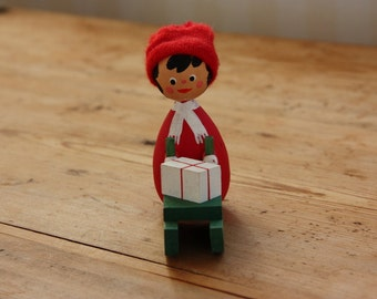 Christmas figurine little brownie/gnome from Sweden