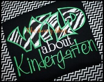 Wild About Kindergarten Shirt