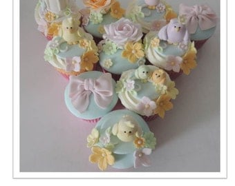 Little Bird Cupcakes PDF Tutorial