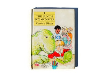 The Lunch Box Monster, 1983, white, vintage book