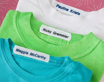Iron On Fabric Labels, Durable Iron On Labels for kids, Iron On Clothing Labels, Iron On Labels Style 26
