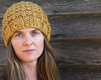 Hat Knitting Pattern - UNITY - a set of INSTRUCTIONS to knit the hat