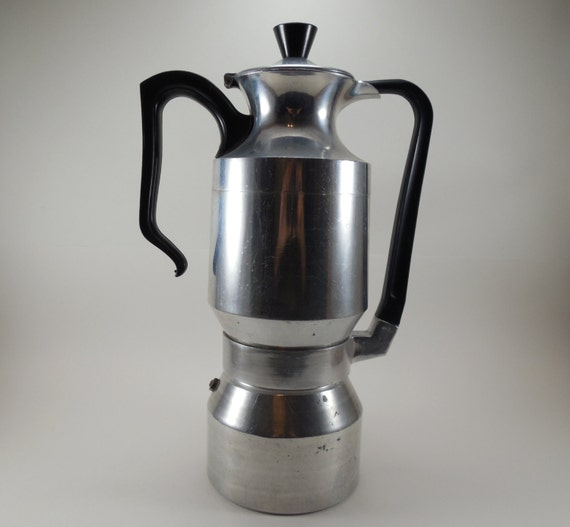 Antique Italian Coffee Maker : Vintage Italian Espresso Coffee Pot Italian Demitasse Coffee