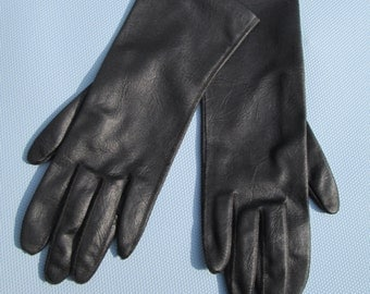 Vintage Black Hansen Gloves