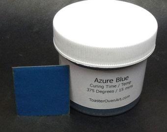 Azure Blue Powder Paint