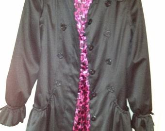 Betsey Johnson Coat Sz Small