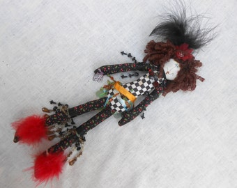 Colorful Long Art Doll that is to Cute!