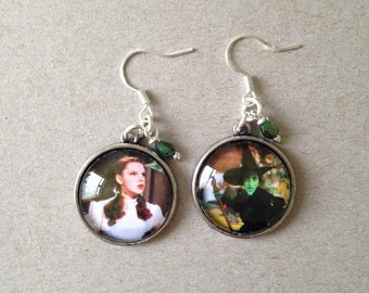Wizard of Oz Earrings - Handmade Unique