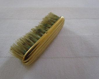 Antique French 18k Mustache Brush 18k Gold