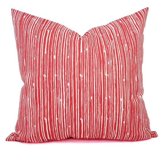 Coral Sofa Pillow: Coral Throw Pillows Coral Stripe Decorative By