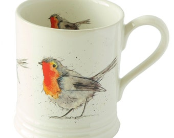 Robin Stoneware Mug