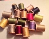 Vintage Stamped Starter Thread Collection