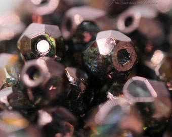 Firepolish 4mm  - Purple Bronze finish (65426)