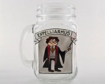 Harry Potter drinking jar